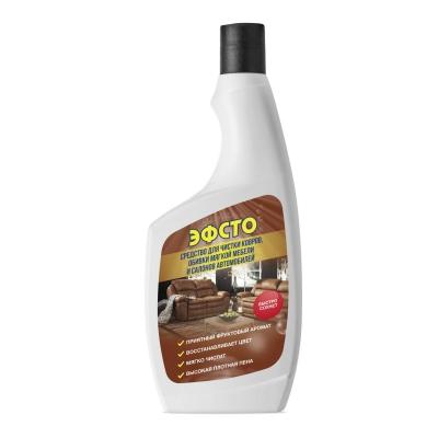 Купить в СПБ Эфсто для чистки ковров, обивки мягкой мебели и салонов автомобилей 520 мл.